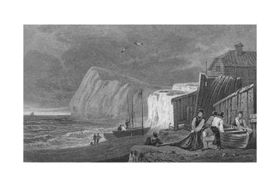 'Shakeseare's Cliff, Dover. Kent', 1831