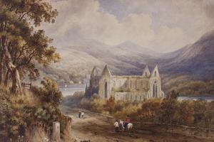 Tintern Abbey, C.1840 by Henry Gastineau