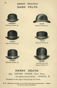 Henry Heath's Hard Felts