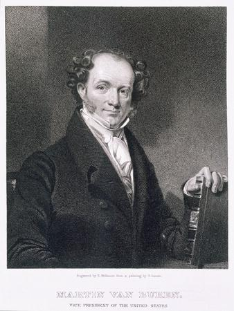 Martin Van Buren, engraved by E. Wellmore