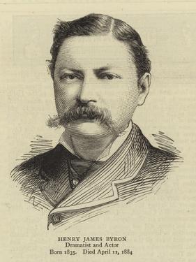 Henry James Byron