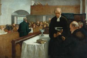 A Scottish Sacrament by Henry John Dobson