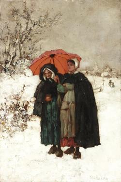 Christmas Morning, C.1900 by Henry John Yeend King