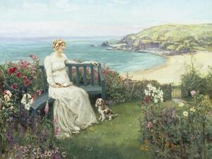Contemplation by Henry John Yeend King