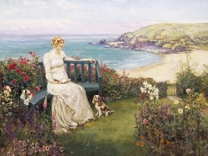 Contemplation by Henry John Yeend King