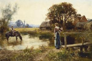 Evening by Henry John Yeend King