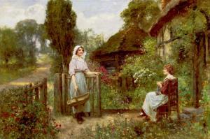 Off to Market by Henry John Yeend King