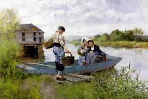 Picnic on the River by Henry John Yeend King