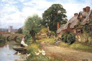 Summer Idyll by Henry John Yeend King