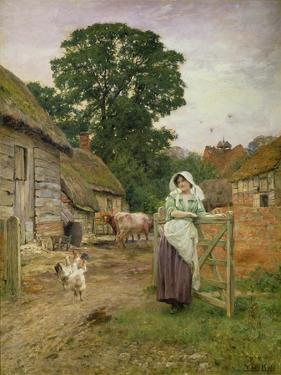 The Milkmaid by Henry John Yeend King
