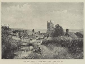 The Mill-Stream, Cerne Abbas by Henry John Yeend King