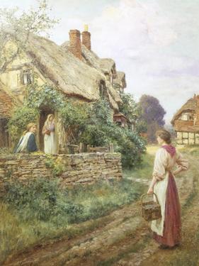The Peaceful Village by Henry John Yeend King