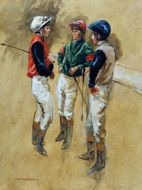 Three Jockeys by Henry Koehler