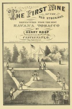 First Nine of the Red Stockings by Henry Koop
