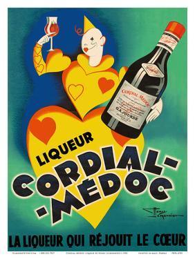 Cordial Médoc Liqueur - The Liquor Which Rejoices the Heart by Henry Le Monnier
