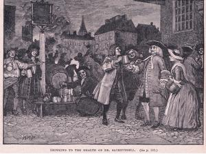 Drinking the Health of Dr Saheverell AD 1710 by Henry Marriott Paget