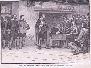Interview Between Charles and the Earl of Denbigh Ad 1644 by Henry Marriott Paget