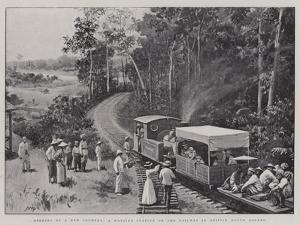 Opening Up a New Country, a Wayside Station on the Railway in British North Borneo by Henry Marriott Paget