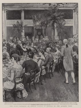 The State Banquet at Dublin Castle in Honour of the Queen's Visit by Henry Marriott Paget