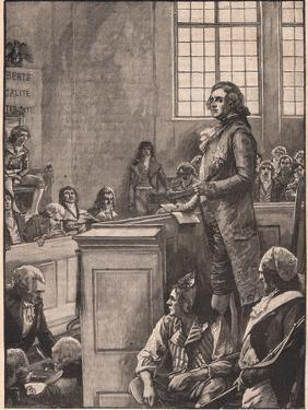 The Trial of Louis XVI by Henry Marriott Paget