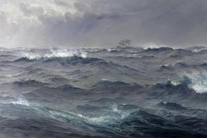 Rough Weather in the Mediterranean by Henry Moore