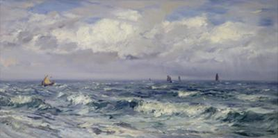 Squally Weather, South Coast by Henry Moore