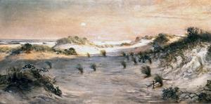 Sand Dunes at Sunset, Atlantic City by Henry Ossawa Tanner