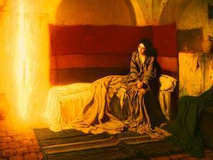The Annunciation, 1898 by Henry Ossawa Tanner