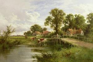 On the Thames Near Marlow by Henry Parker