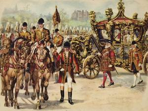 Coronation Procession of King George V, 22 June 1911 by Henry Payne