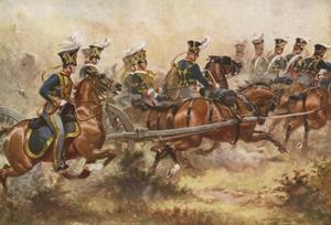 Royal Horse Artillery, C1832 by Henry Payne