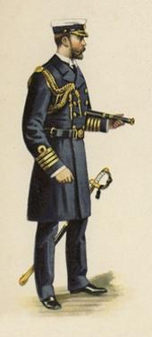 The Duke of Cornwall and York During His Naval Service, 1892 by Henry Payne