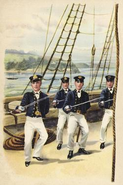 The Future King Geoge V as a Naval Cadet, 1877 by Henry Payne