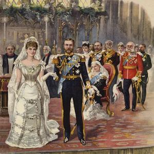 The Marriage of the Duke of Cornwall and York to Princess Mary by Henry Payne