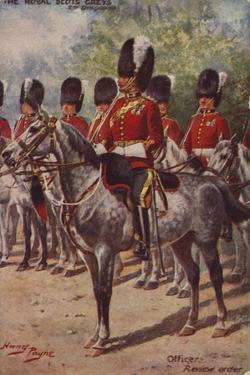The Royal Scots Greys by Henry Payne