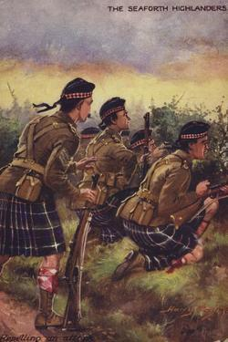 The Seaforth Highlanders by Henry Payne