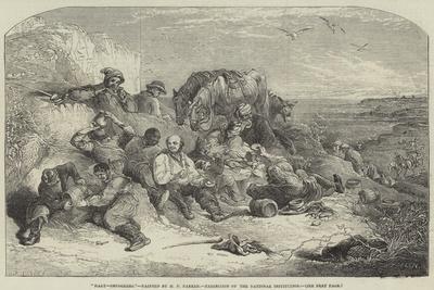 Halt-Smugglers, Exhibition of the National Institution