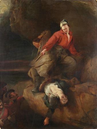 Smugglers Attacked, 1827