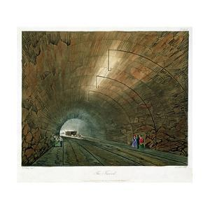 The Tunnel, 1831 by Henry Pyall