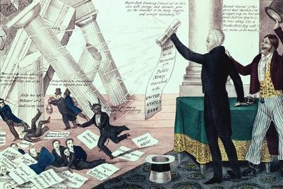 Downfall of Mother Bank, 1833