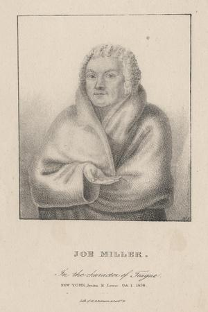 Joe Miller in the Character of Teague, 1838