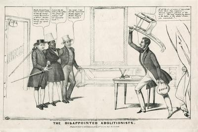 The Disappointed Abolitionists, 1838