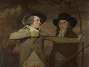 Robert Ferguson of Raith and Lieutenant-General Sir Ronald Ferguson (The Archer), C. 1789 by Henry Raeburn