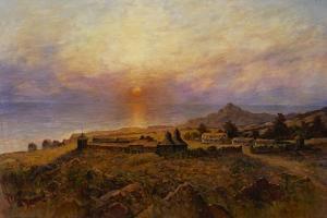 Fort Ross. Russian-American Company Settlement, C. 1880 by Henry Raschen