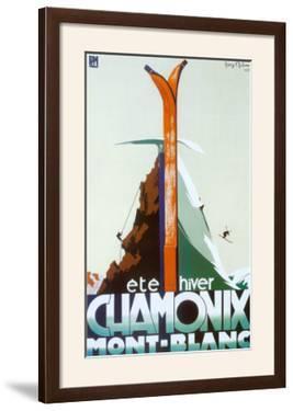 Ete Hiver Chamonix Mont-Blanc by Henry Reb
