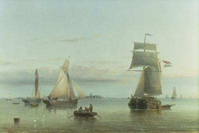 Calm on the Humber, 1864
