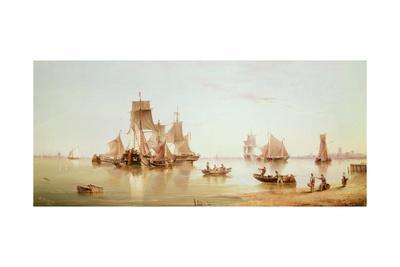 Ships in a Calm, 1873
