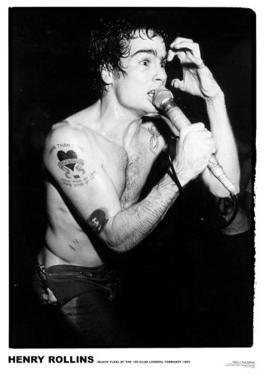 Henry Rollins-100 Club 1983