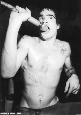 Henry Rollins-London 83
