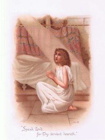 Speak, Lord for Thy Servant Heareth